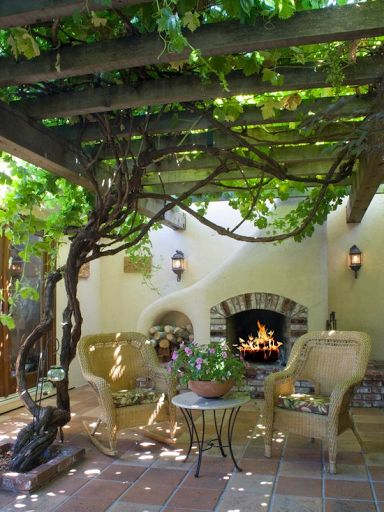 Inexpensive diy outdoor decoration ideas 35