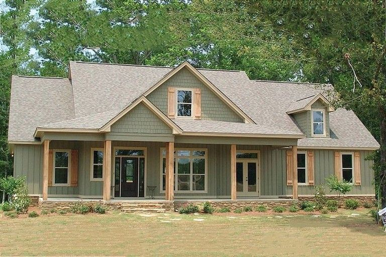 Modern farmhouse exterior design ideas 05