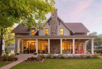 Modern farmhouse exterior design ideas 13
