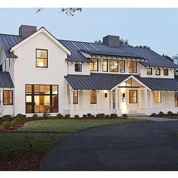 Modern farmhouse exterior design ideas 18