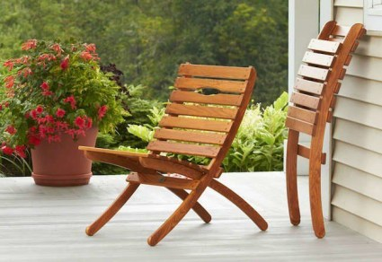 Minimalist furniture for your outdoor area 10