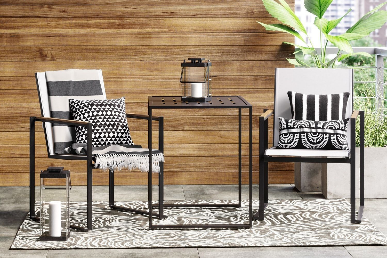 Minimalist furniture for your outdoor area 20
