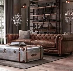 Rustic industrial decor and design ideas 16