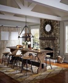 Rustic industrial decor and design ideas 35