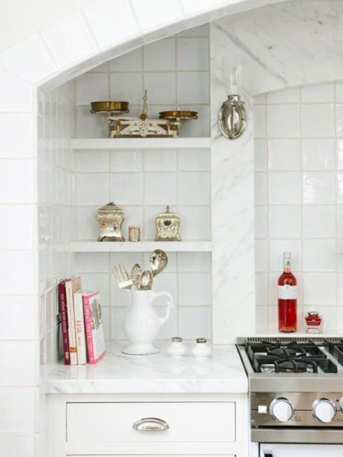 Corner shelves that change home decor become more beautiful 02