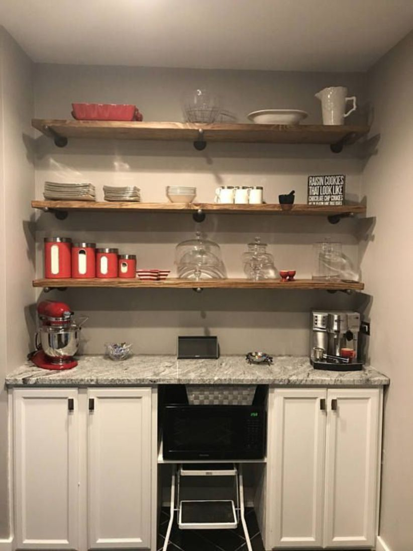 Corner shelves that change home decor become more beautiful 10