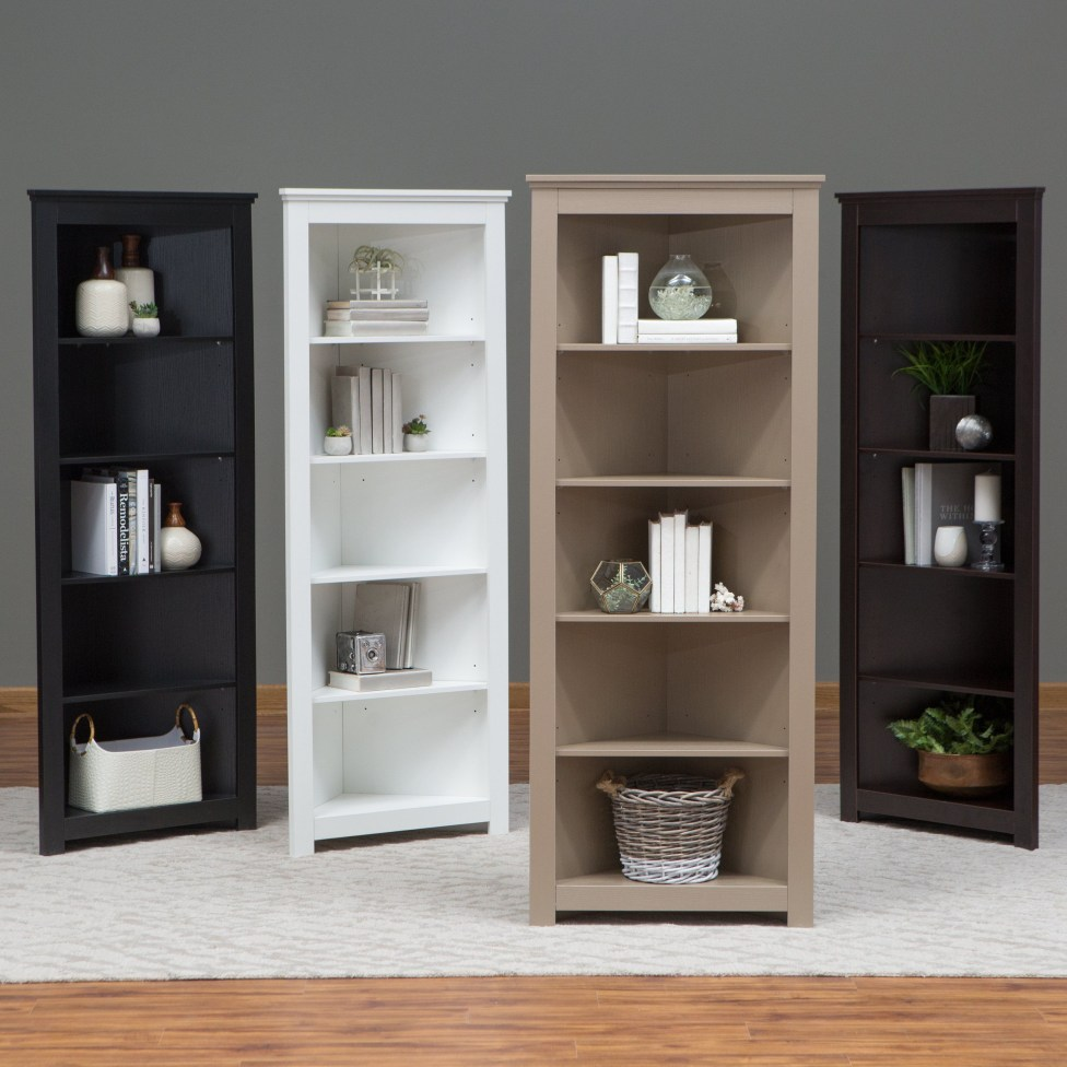 Corner shelves that change home decor become more beautiful 12