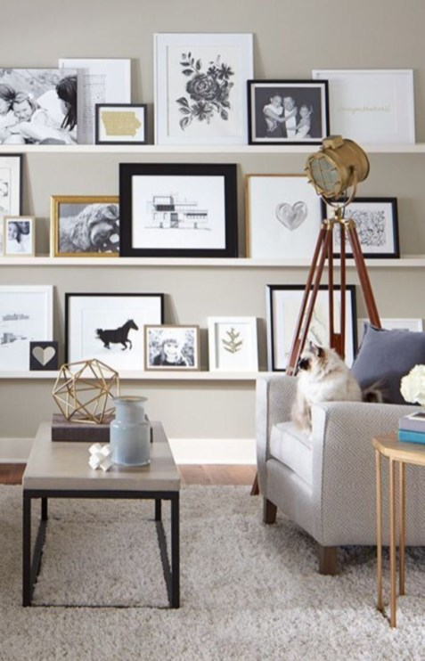 Corner shelves that change home decor become more beautiful 25
