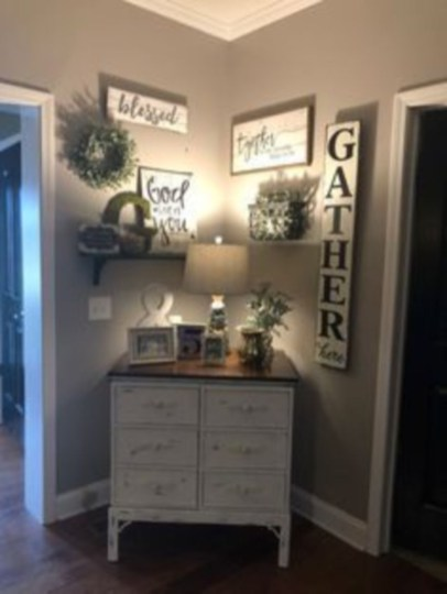 Corner shelves that change home decor become more beautiful 35