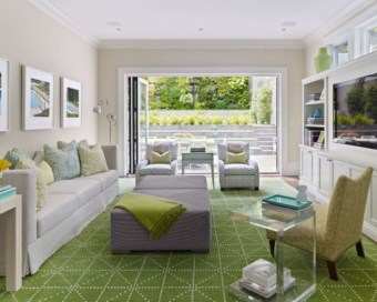Design a living room in a small space that remains comfortablel 13
