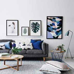 Design a living room in a small space that remains comfortablel 25