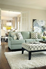 Design a living room in a small space that remains comfortablel 27