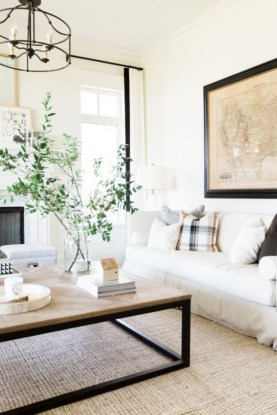 Design a living room in a small space that remains comfortablel 35