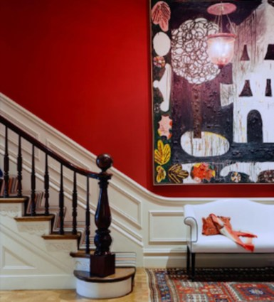 Home interior design with the concept of valentine's day 09
