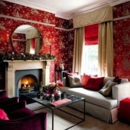 Home interior design with the concept of valentine's day 11
