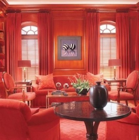 Home interior design with the concept of valentine's day 12