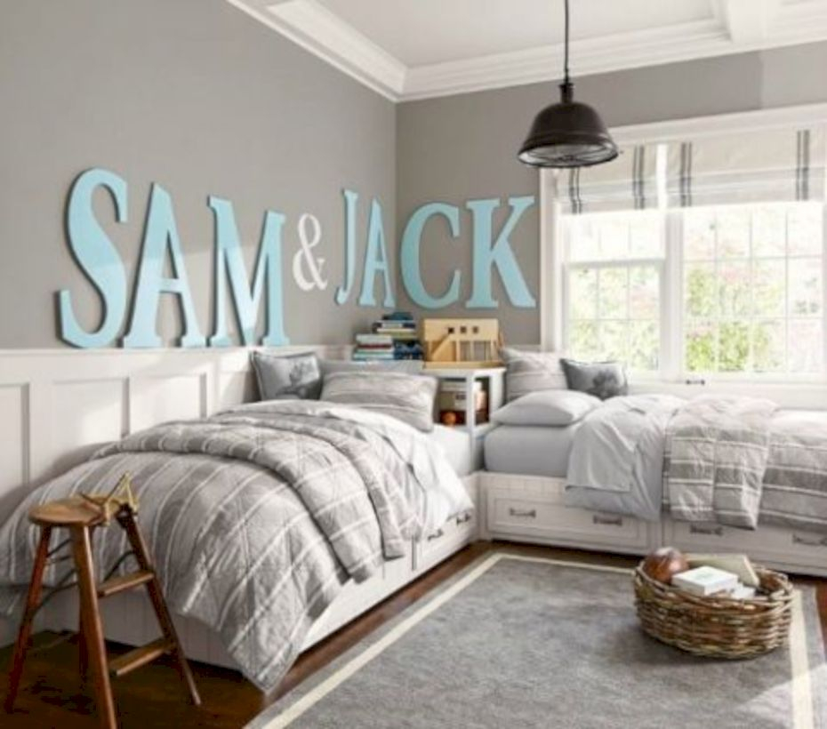 Stylish boys bedroom ideas that you must try 31