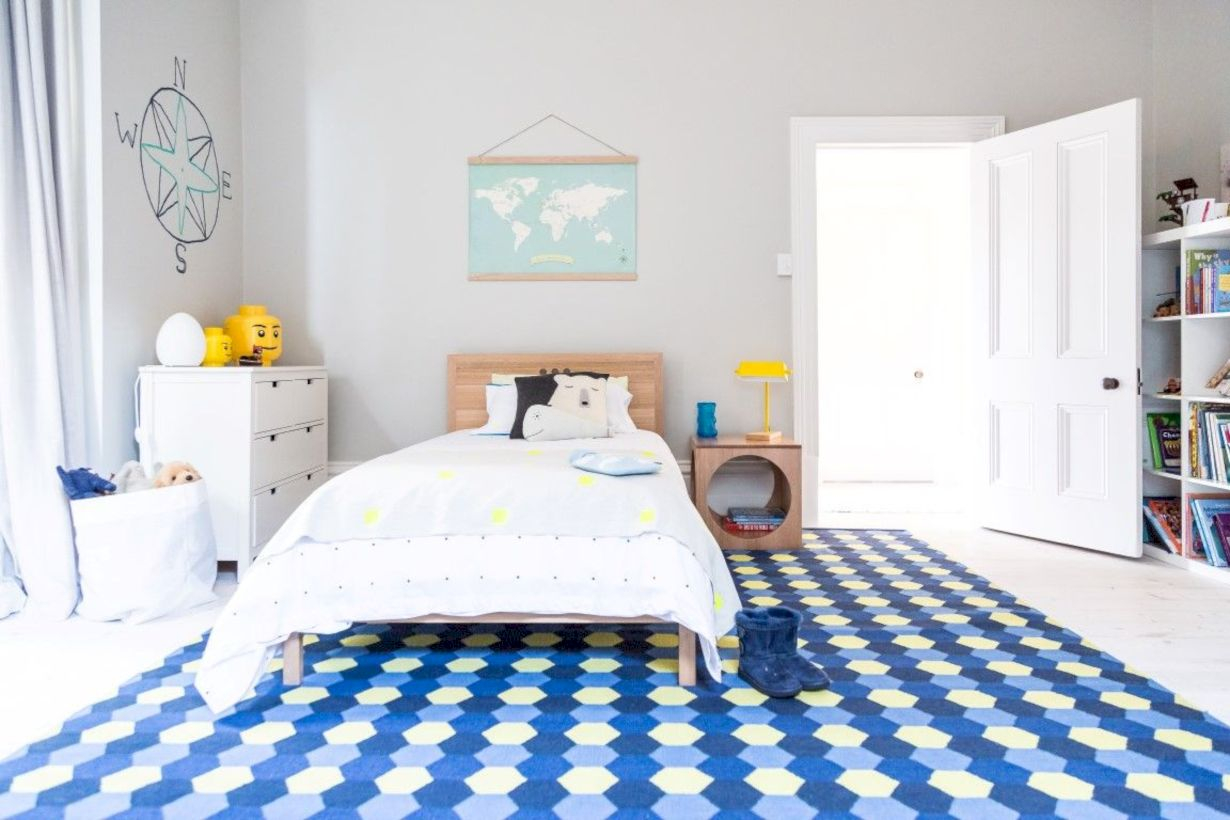 Stylish boys bedroom ideas that you must try 47