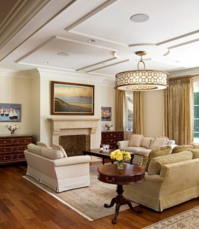 The design of the living room looks luxurious 45
