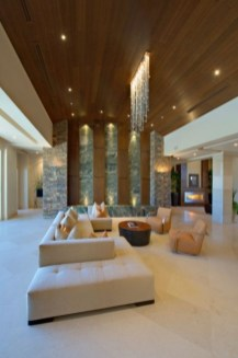 The design of the living room looks luxurious 47