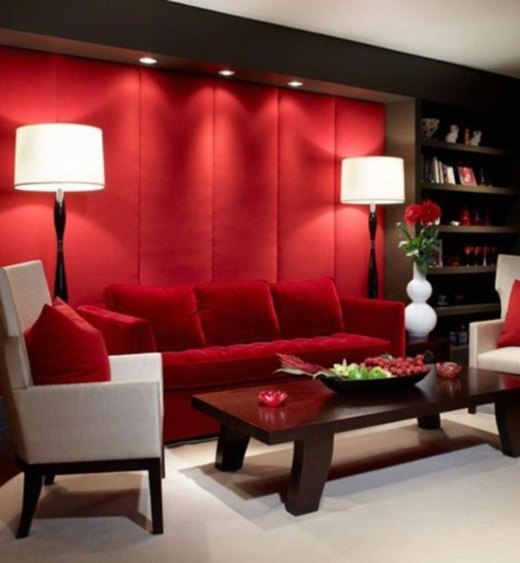 The design of the living room looks luxurious 52