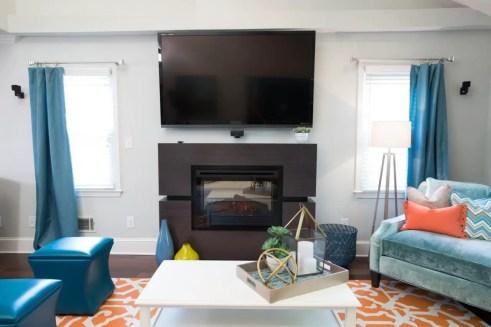 The best artistic livingroom design 44