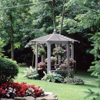 The best garden design for small areas 16