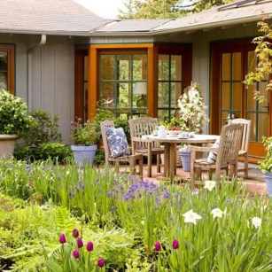 The best garden design for small areas 17