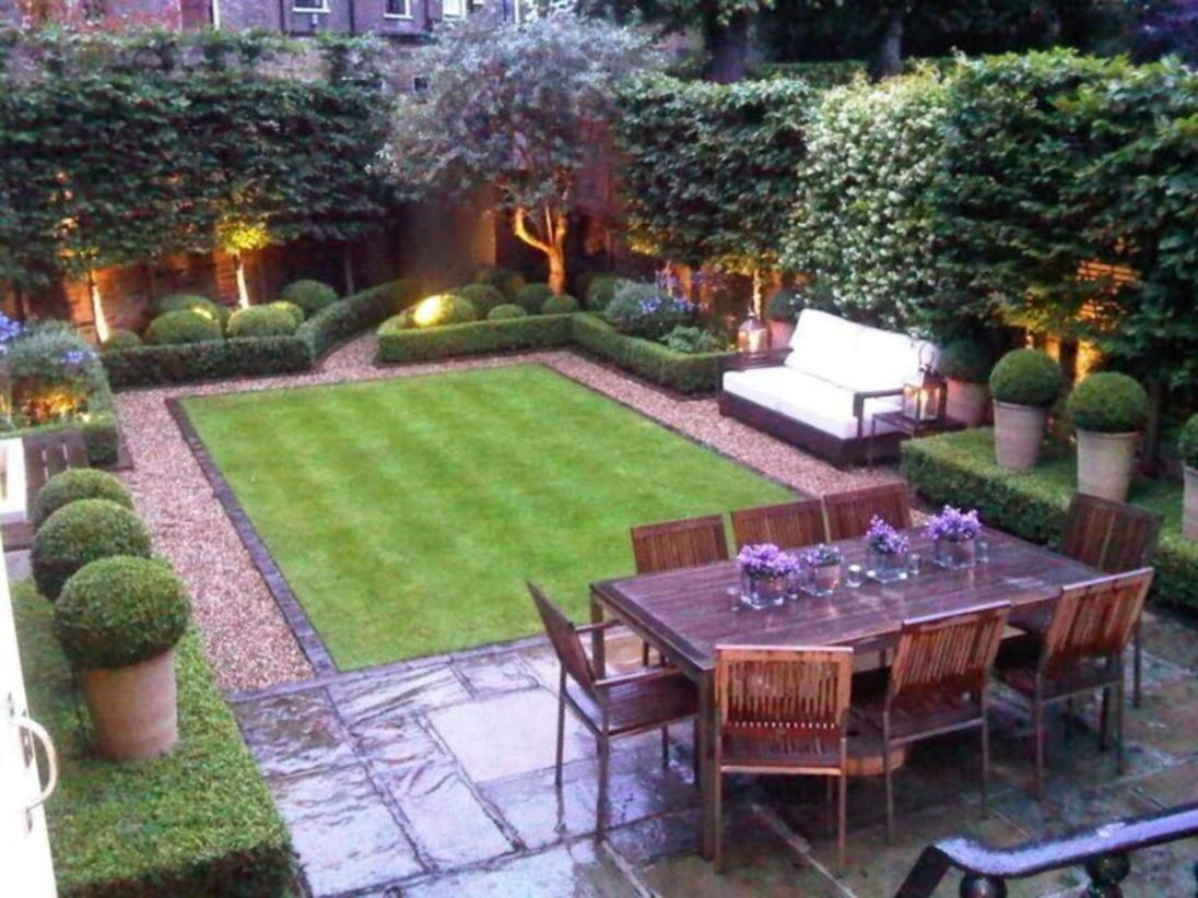 The best garden design for small areas 31