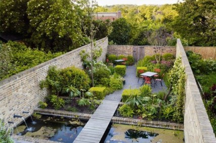 The best garden design for small areas 34