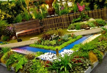 The best garden design for small areas 39