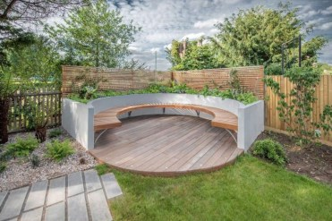 The best garden design for small areas 45