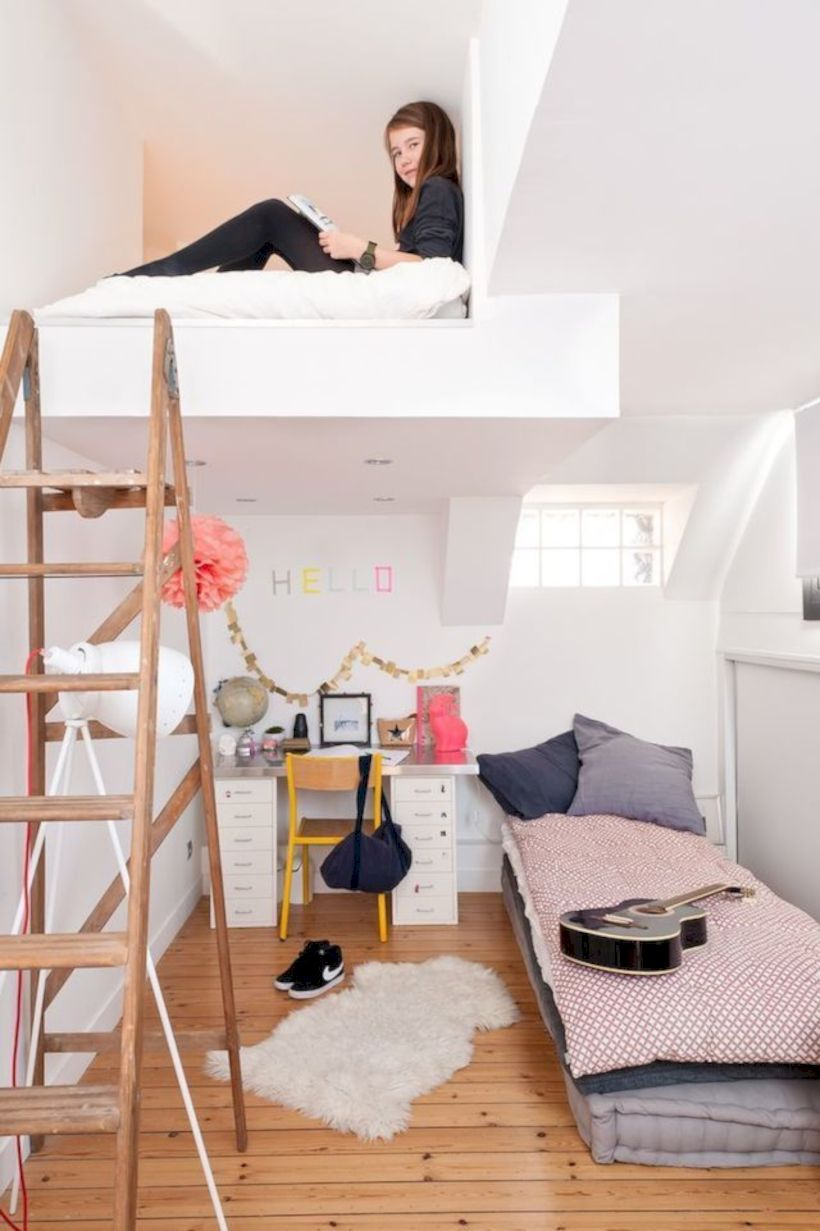 Bedroom ideas for small rooms for teens 45
