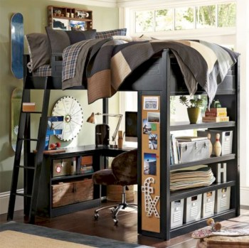 Cozy small bedroom ideas for your son 09