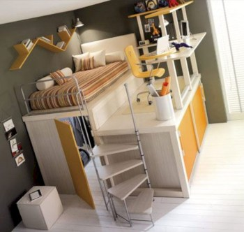Cozy small bedroom ideas for your son 22