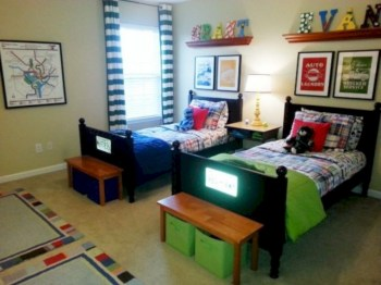 Cozy small bedroom ideas for your son 30