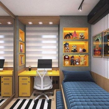 Cozy small bedroom ideas for your son 36
