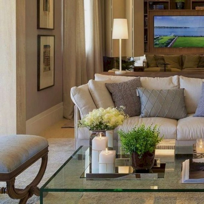 Living room design ideas that you should try 20