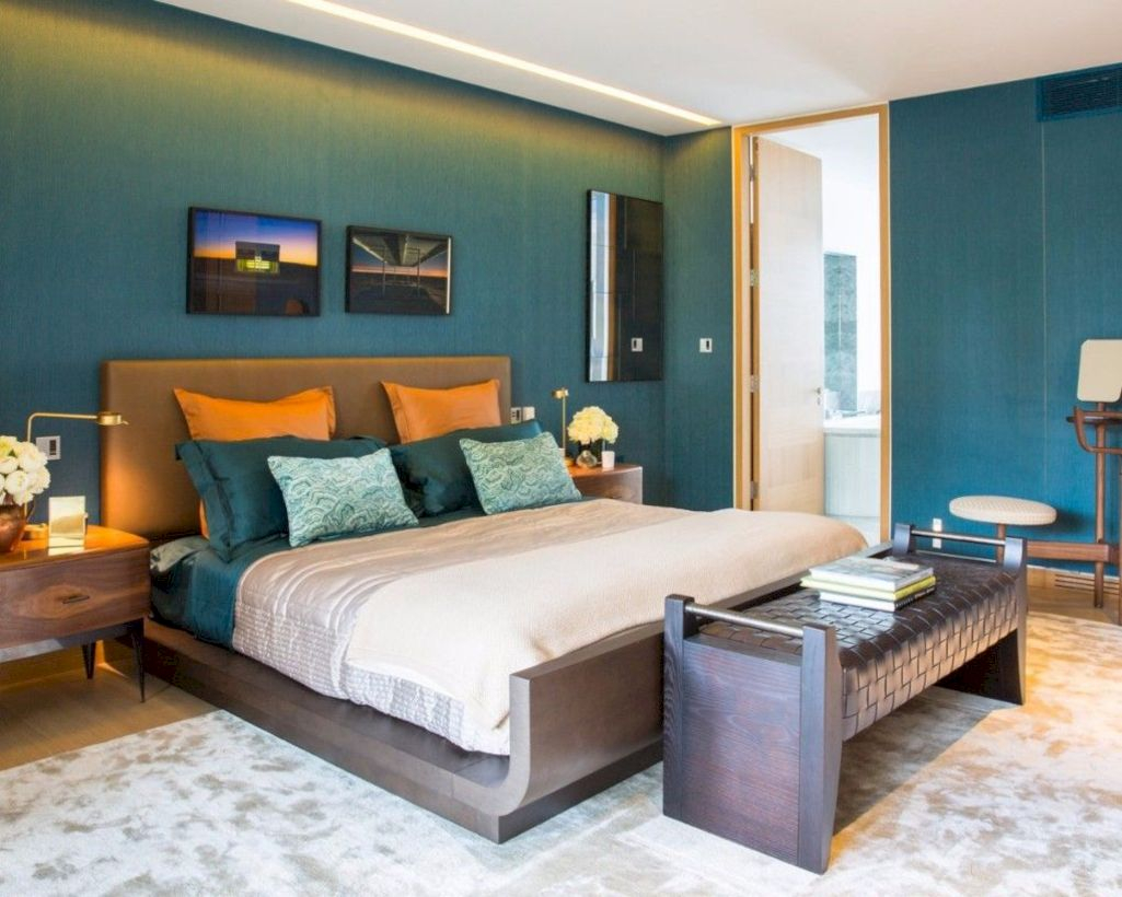 The best bedroom design ideas for you to apply in your home 43