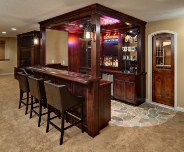 Amazing mini bar design ideas that you can copy right now 03
