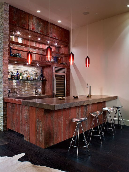 Amazing mini bar design ideas that you can copy right now 19