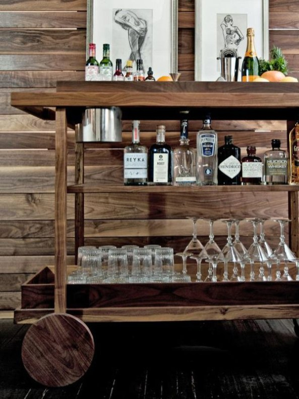 Amazing mini bar design ideas that you can copy right now 25
