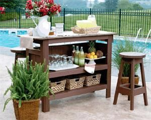 Amazing mini bar design ideas that you can copy right now 35
