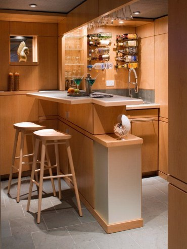 Amazing mini bar design ideas that you can copy right now 38