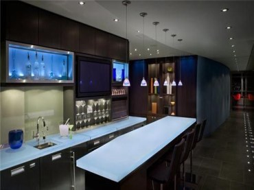 Amazing mini bar design ideas that you can copy right now 44