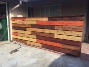 Amazing home fence color design ideas 47