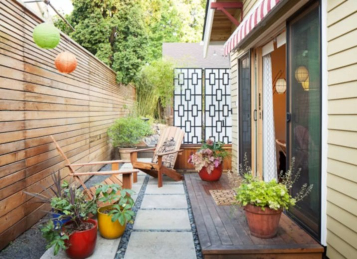 Backyard design for small areas that remain comfortable to relax 13