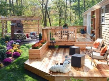 Backyard design for small areas that remain comfortable to relax 15