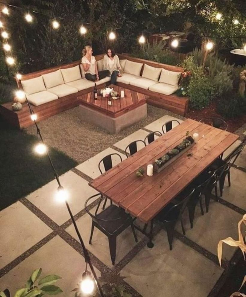 Backyard design for small areas that remain comfortable to relax 18