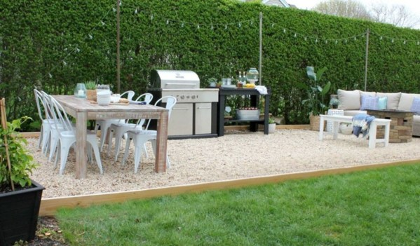 Backyard design for small areas that remain comfortable to relax 25
